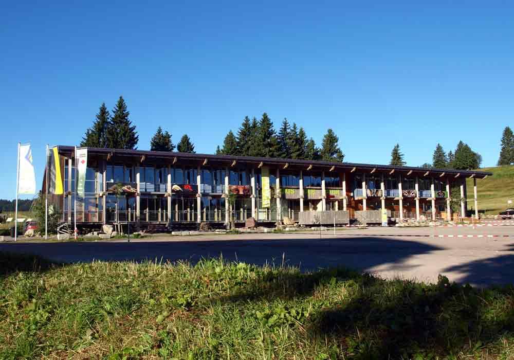 House of nature (haus der natur) in feldberg